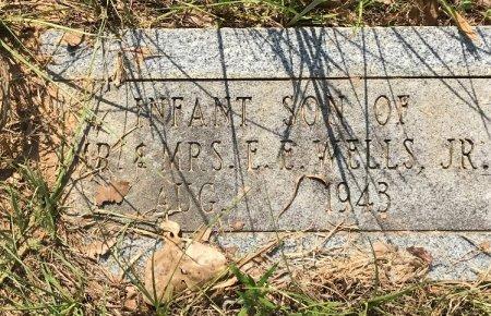 WELLS, INFANT SON - Caddo County, Louisiana   INFANT SON WELLS - Louisiana Gravestone Photos
