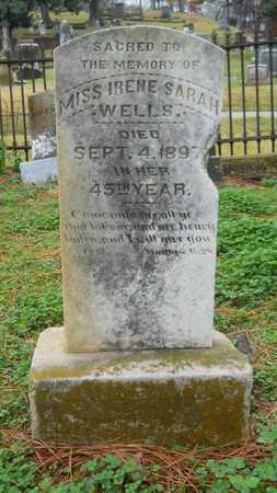 WELLS, IRENE SARAH - Caddo County, Louisiana   IRENE SARAH WELLS - Louisiana Gravestone Photos