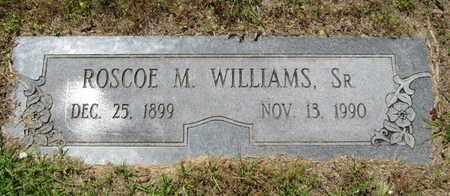 WILLIAMS, ROSCOE M, SR - Caddo County, Louisiana | ROSCOE M, SR WILLIAMS - Louisiana Gravestone Photos