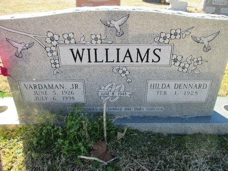 WILLIAMS, VARDAMAN, JR - Caddo County, Louisiana   VARDAMAN, JR WILLIAMS - Louisiana Gravestone Photos