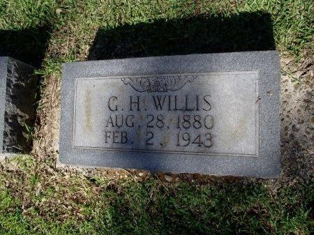 WILLIS, GEORGE H - Caddo County, Louisiana   GEORGE H WILLIS - Louisiana Gravestone Photos