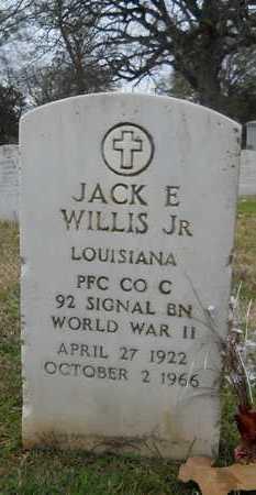 WILLIS, JACK E, JR  (VETERAN WWII) - Caddo County, Louisiana   JACK E, JR  (VETERAN WWII) WILLIS - Louisiana Gravestone Photos