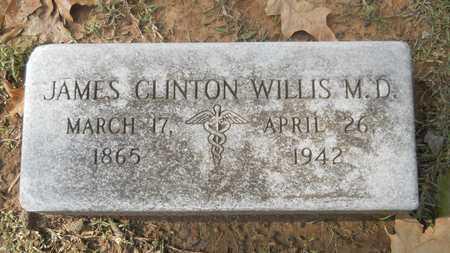 WILLIS, JAMES CLINTON, MD - Caddo County, Louisiana | JAMES CLINTON, MD WILLIS - Louisiana Gravestone Photos