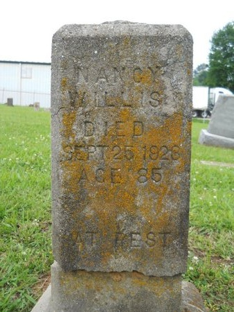 WILLIS, NANCY - Caddo County, Louisiana | NANCY WILLIS - Louisiana Gravestone Photos