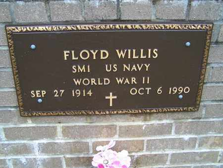 WILLIS, FLOYD (VETERAN WWII) - Caddo County, Louisiana | FLOYD (VETERAN WWII) WILLIS - Louisiana Gravestone Photos