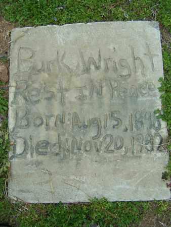 WRIGHT, BURK - Caddo County, Louisiana | BURK WRIGHT - Louisiana Gravestone Photos