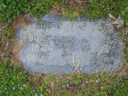 WRIGHT, CARLINE - Caddo County, Louisiana | CARLINE WRIGHT - Louisiana Gravestone Photos