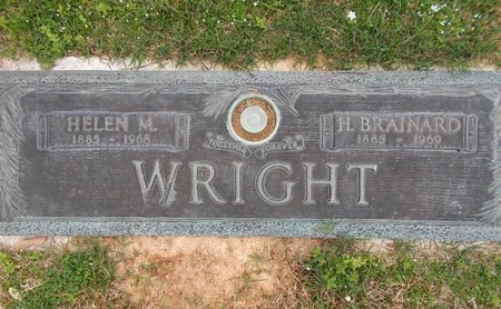 WRIGHT, HELEN M - Caddo County, Louisiana | HELEN M WRIGHT - Louisiana Gravestone Photos