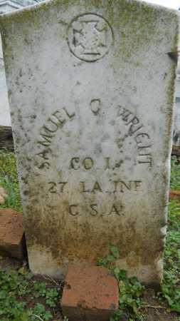 WRIGHT, SAMUEL C (VETERAN CSA) - Caddo County, Louisiana | SAMUEL C (VETERAN CSA) WRIGHT - Louisiana Gravestone Photos