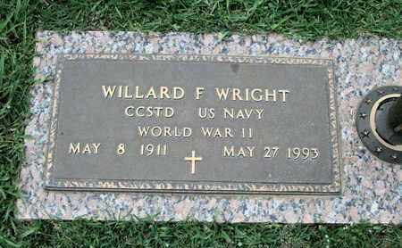 WRIGHT, WILLARD F (VETERAN WWII) - Caddo County, Louisiana   WILLARD F (VETERAN WWII) WRIGHT - Louisiana Gravestone Photos