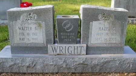 WRIGHT, HAZEL G - Caddo County, Louisiana   HAZEL G WRIGHT - Louisiana Gravestone Photos