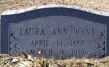 WYNN, LAURA ANN - Caddo County, Louisiana   LAURA ANN WYNN - Louisiana Gravestone Photos
