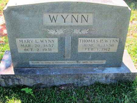 WYNN, THOMAS P - Caddo County, Louisiana | THOMAS P WYNN - Louisiana Gravestone Photos