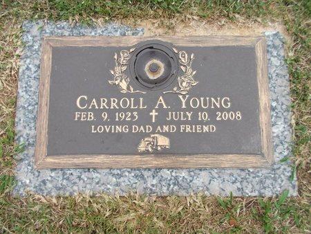 YOUNG, CARROLL A - Caddo County, Louisiana | CARROLL A YOUNG - Louisiana Gravestone Photos