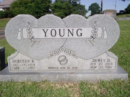 YOUNG, DEWEY D - Caddo County, Louisiana | DEWEY D YOUNG - Louisiana Gravestone Photos