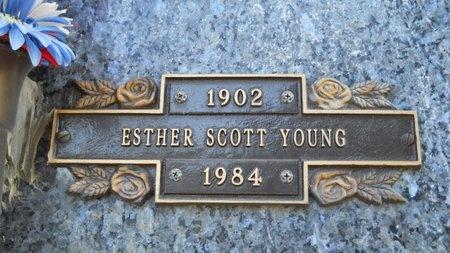 YOUNG, ESTHER - Caddo County, Louisiana   ESTHER YOUNG - Louisiana Gravestone Photos