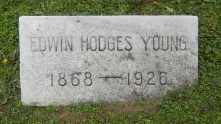 YOUNG, EDWIN HODGES - Caddo County, Louisiana   EDWIN HODGES YOUNG - Louisiana Gravestone Photos