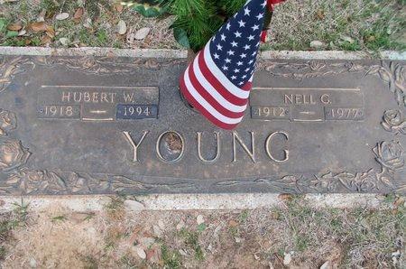YOUNG, HUBERT W - Caddo County, Louisiana | HUBERT W YOUNG - Louisiana Gravestone Photos