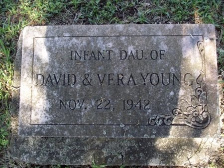 YOUNG, INFANT DAUGHTER - Caddo County, Louisiana | INFANT DAUGHTER YOUNG - Louisiana Gravestone Photos