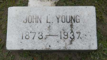 YOUNG, JOHN L - Caddo County, Louisiana | JOHN L YOUNG - Louisiana Gravestone Photos