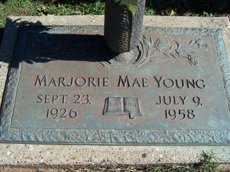 YOUNG, MARJORIE MAE - Caddo County, Louisiana | MARJORIE MAE YOUNG - Louisiana Gravestone Photos