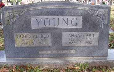 YOUNG, ANNA MARIE - Caddo County, Louisiana | ANNA MARIE YOUNG - Louisiana Gravestone Photos