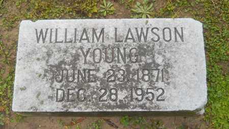 YOUNG, WILLIAM LAWSON - Caddo County, Louisiana | WILLIAM LAWSON YOUNG - Louisiana Gravestone Photos
