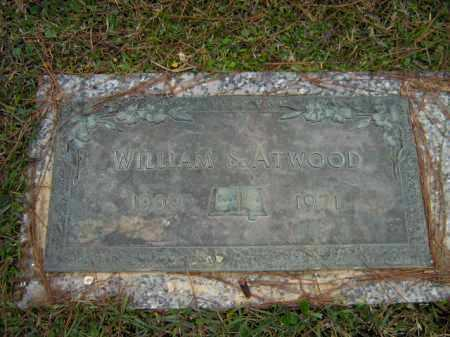 ATWOOD, WILLIAM  S - Calcasieu County, Louisiana | WILLIAM  S ATWOOD - Louisiana Gravestone Photos