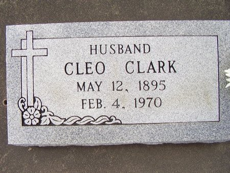 CLARK, CLEO - Calcasieu County, Louisiana | CLEO CLARK - Louisiana Gravestone Photos