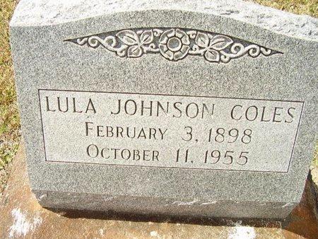 JOHNSON COLES, LULA - Calcasieu County, Louisiana | LULA JOHNSON COLES - Louisiana Gravestone Photos