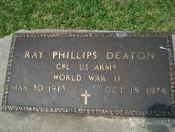 DEATON, RAY PHILLIPS - Calcasieu County, Louisiana | RAY PHILLIPS DEATON - Louisiana Gravestone Photos