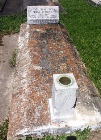 "DEROUEN, WILLIAM JOSEPH  ""WILLIE"" - Calcasieu County, Louisiana   WILLIAM JOSEPH  ""WILLIE"" DEROUEN - Louisiana Gravestone Photos"