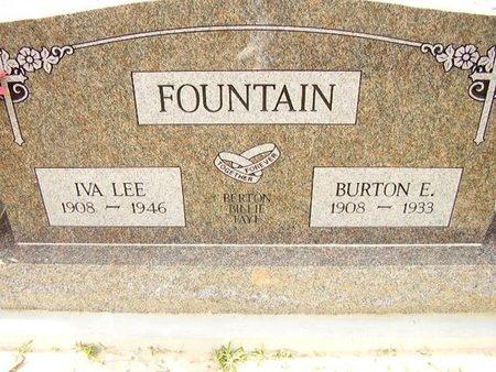 FOUNTAIN, IVA LEE - Calcasieu County, Louisiana | IVA LEE FOUNTAIN - Louisiana Gravestone Photos