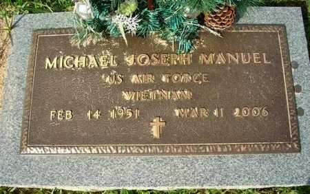 MANUEL, MICHAEL JOSEPH (VETERAN VIET) - Calcasieu County, Louisiana   MICHAEL JOSEPH (VETERAN VIET) MANUEL - Louisiana Gravestone Photos