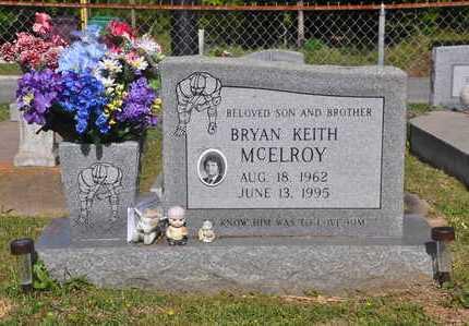 MCELROY, BRYAN KEITH - Calcasieu County, Louisiana | BRYAN KEITH MCELROY - Louisiana Gravestone Photos