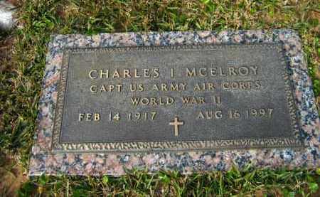 MCELROY, CHARLES I  (VETERAN WWII) - Calcasieu County, Louisiana | CHARLES I  (VETERAN WWII) MCELROY - Louisiana Gravestone Photos