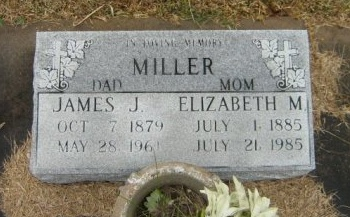 MILLER, JAMES JOSEPH - Calcasieu County, Louisiana | JAMES JOSEPH MILLER - Louisiana Gravestone Photos