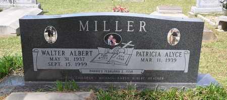 MILLER, WALTER ALBERT - Calcasieu County, Louisiana | WALTER ALBERT MILLER - Louisiana Gravestone Photos