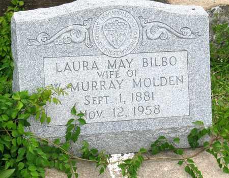 BILBO MOLDEN, LAURA MAY (CLOSEUP) - Calcasieu County, Louisiana   LAURA MAY (CLOSEUP) BILBO MOLDEN - Louisiana Gravestone Photos