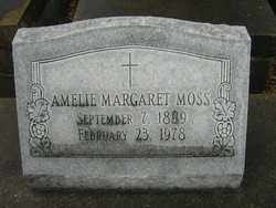 MOSS, AMELIE MARGARET - Calcasieu County, Louisiana | AMELIE MARGARET MOSS - Louisiana Gravestone Photos