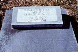 MOSS, ELIZABETH H - Calcasieu County, Louisiana   ELIZABETH H MOSS - Louisiana Gravestone Photos