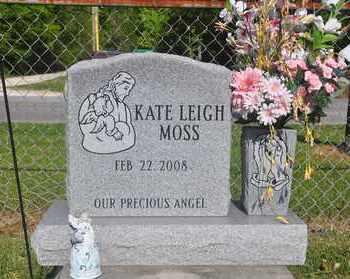 MOSS, KATE LEIGH - Calcasieu County, Louisiana | KATE LEIGH MOSS - Louisiana Gravestone Photos
