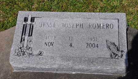 ROMERO, JESSE JOSEPH - Calcasieu County, Louisiana   JESSE JOSEPH ROMERO - Louisiana Gravestone Photos