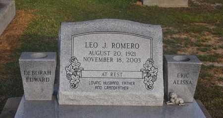 ROMERO, LEO J - Calcasieu County, Louisiana | LEO J ROMERO - Louisiana Gravestone Photos