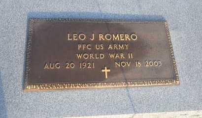 ROMERO, LEO J  (VETERAN WII) - Calcasieu County, Louisiana | LEO J  (VETERAN WII) ROMERO - Louisiana Gravestone Photos