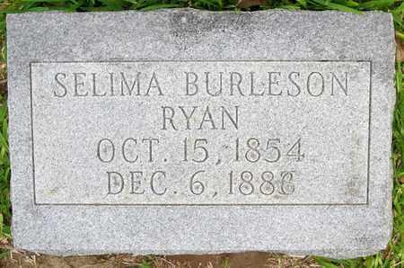 RYAN, SELIMA - Calcasieu County, Louisiana   SELIMA RYAN - Louisiana Gravestone Photos
