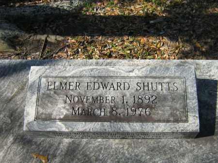 SHUTTS, ELMER EDWARD - Calcasieu County, Louisiana   ELMER EDWARD SHUTTS - Louisiana Gravestone Photos