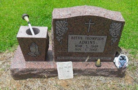THOMPSON ADKINS, BETTIE - Caldwell County, Louisiana | BETTIE THOMPSON ADKINS - Louisiana Gravestone Photos