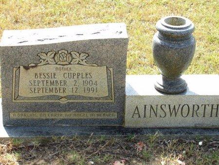 CUPPLES AINSWORTH, BESSIE - Caldwell County, Louisiana | BESSIE CUPPLES AINSWORTH - Louisiana Gravestone Photos