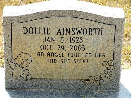 AINSWORTH, DOLLIE - Caldwell County, Louisiana | DOLLIE AINSWORTH - Louisiana Gravestone Photos